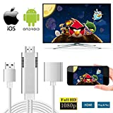 MHL to HDMI Adapter for Smartphones, WEILIANTE HD 1080P HDMI Adapter 1080P Digital AV Adapter HDTV MHL Cable Support All Smartphones to Mirror on TV/Projector/Monitor