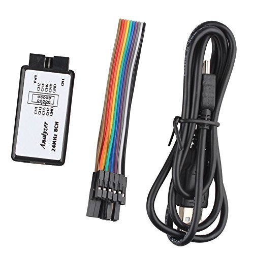 USB Logic Analyzer Device Set USB Cable 24MHz 8CH 24M Hz 8 Channel for ARM FPGA M100 SCM