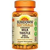 Sundown Milk Thistle 240mg , 60 Capsules ea (Packs of 2) Review
