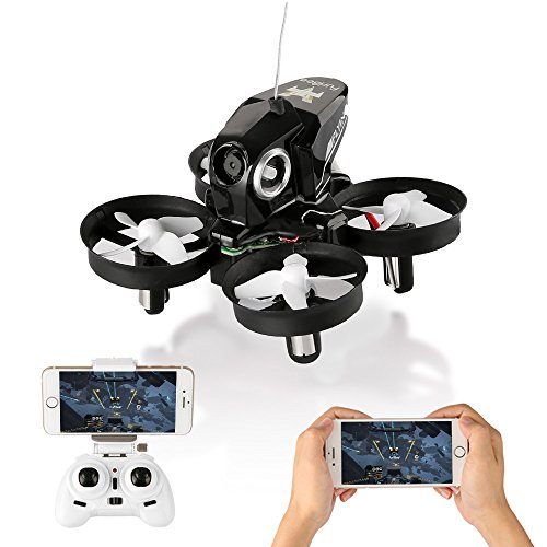 Furibee Mini Drone with Camera Live Video, H801 WIFI FPV Drone RC Quadcopter Drone RTF for Beginners, Kids, One Key Return, Easy To Fly