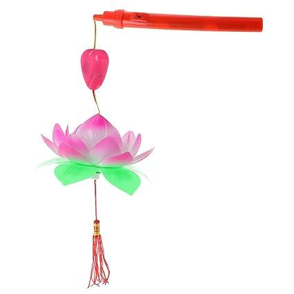 Amazon yuayan portable amazing musical blossom lotus flower yuayan portable amazing musical blossom lotus flower light lamp party glowing lanterns mightylinksfo
