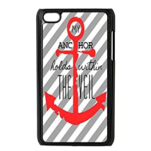 Custom Anchor Back Cover Case for ipod Touch 4 JNIPOD4-485