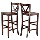 """Winsome Victor Stools, 29"""", Brown"""