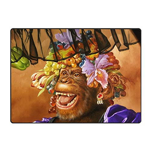 (JONHBKD Fruit Gorilla Door Mat Floor Mat Rug Indoor/Outdoor/Front Door/Bathroom Mats)