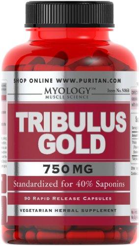 Миология Tribulus Gold стандартизированный экстракт 750 мг-90 капсулы