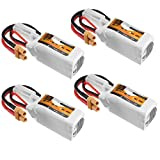 MAUBHYA 4Pcs ZOP Power 11.1V 450mAh 35C 3S Lipo Battery XT30 Plug SINGLE ITEM
