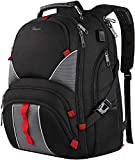 Large Laptop Backpack,High Capacity TSA Durable Luggage Travel Laptop Backpacks,Water Resistant Extra Big Student College School Backpack for Women Men with USB Port, Fits 17 inch Laptop & Notebook