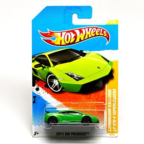 hot wheels 2011 lamborghini gallardo lp 570 4 superleggera 2011 new models 1 64 scale. Black Bedroom Furniture Sets. Home Design Ideas