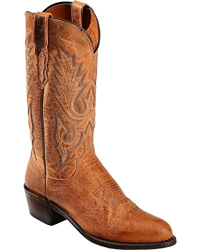 Lucchese Tan Goat Boots - 8