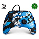 PowerA-Enhanced-Wired-Controller-for-Xbox-Metallic-Blue-Camo-Gamepad-Wired-Video-Game-Controller-Gaming-Controller-Xbox-Series-XS