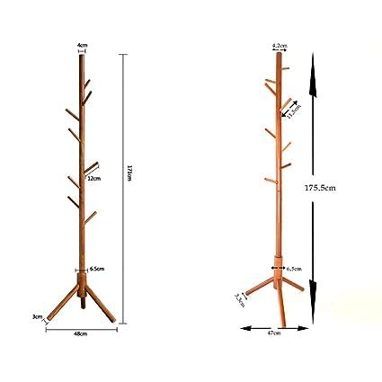 WJK Perchero Creativo Colgador de árbol Minimalista Fácil ...