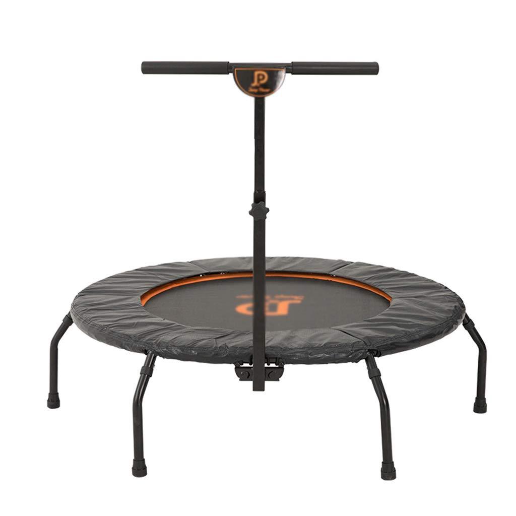 Gartentrampoline Trampolin-Kinderspielzeug-Sprungbett Innentrampolin mit Armlehnen Sprungbett Trampolin für Heimfitnessgeräte für Erwachsene mit Einem Gewicht von 130 kg