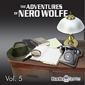 Adventures of Nero Wolfe Vol. 5 Radio/TV Program
