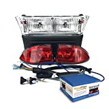 RecPro CLUB CAR PRECEDENT GOLF CART LIGHT KIT W/ LED TAIL LIGHTS FOR YEARS 2004-2008.5