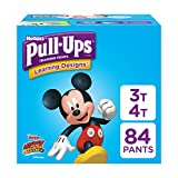 Health & Personal Care : Pull-Ups Learning Designs, 3T-4T (32-40 lb.), 84 Ct. Potty Training Pants for Boys, Disposable Potty Training Pants for Toddler Boys (Packaging May Vary)