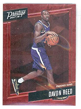 4aefd2f15 Basketball NBA 2017-18 Prestige Micro Etch Rookies Red  31 Davon Reed Suns