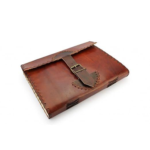 2 opinioni per A.P. Donovan- Notebook giornale in pelle marrone vintage- libro da scrivere in-