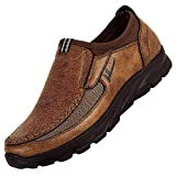 BaZhaHei Autumn Men's Shoes Breathable Boots Non-Slip Sports Shoes Thick Bottom Casual Shoes Outdoor Work Shoes Leisure Slip-on Loafers Mens Fashion Sneakers Size 7-13.5
