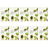 innisfree It's real squeeze mask (10 pack, Green Tea)