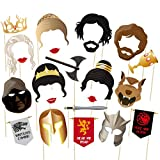 musykrafties GOT Party Game Thrones Inspired Photo Booth Props 22 Count