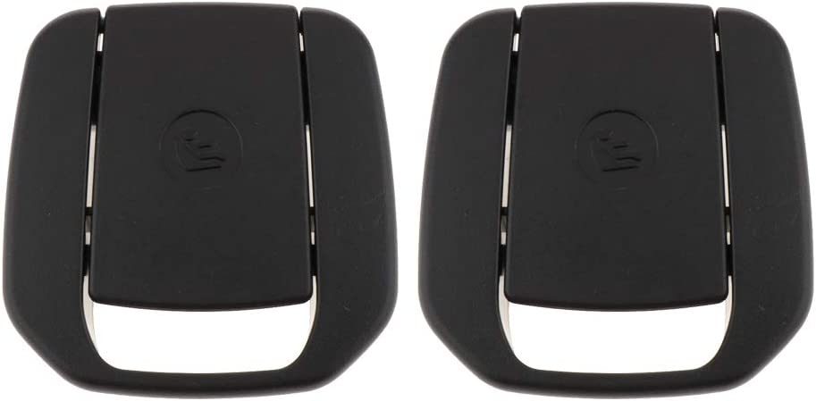 Nrpfell Car Sedile Posteriore Gancio Isofix Protezione per Bambini per X1 E84 3 Serie E90 F30 1 Serie E87 Gancio per Sedile Posteriore Auto