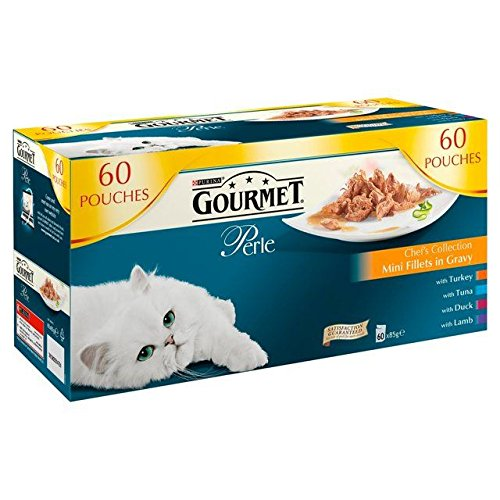 Gourmet Perle Mixed Pouch Chef's Selection 60 x 85g (PACK OF 6)