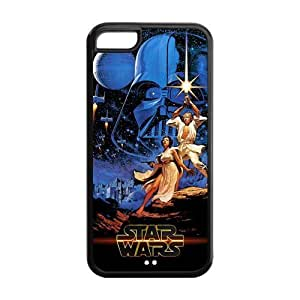 Hard Rubber Special Design iPhone 5c Cover Star Wars Case for iPhone 5c