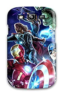Best High-quality Durability Case For Galaxy S3(avengers Poster)