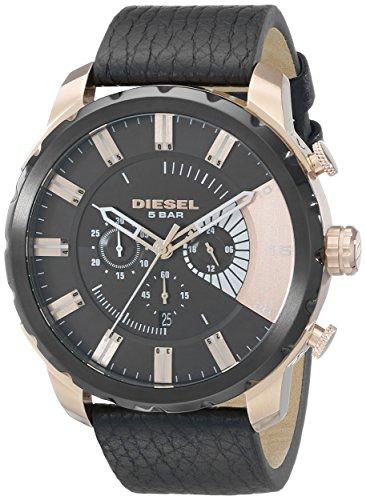 Diesel Men's DZ4347 Stronghold Analog Display Analog Quartz Black Watch from Diesel