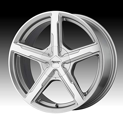 AMERICAN RACING AR921 TRIGGER Wheel with SILVER and Chromium (hexavalent compounds) (15 x 7. inches /5 x 72 mm, 35 mm Offset) ()