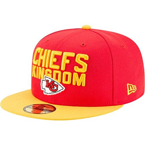外交めったにぶら下がるニューエラ (New Era) 59フィフティ キャップ - NFL 2018 ドラフト カンザスシティーチーフス (Kansas City Chiefs)