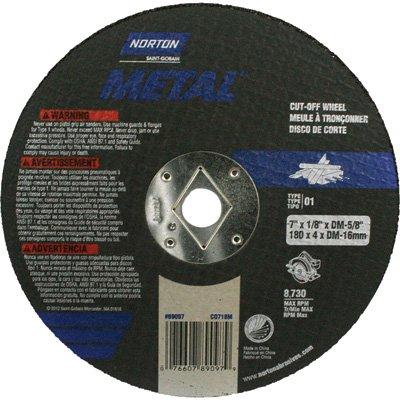 - Norton Cutoff Blade - 7in. Dia.