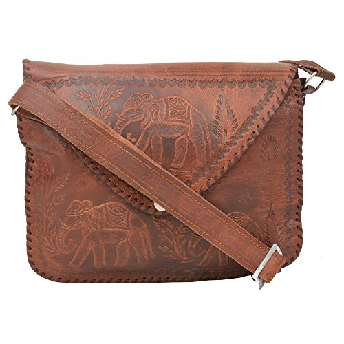 Handcraft's 'Eco Handmade Genuine Leather Eco-Friendly Cross Body Ladies Bag