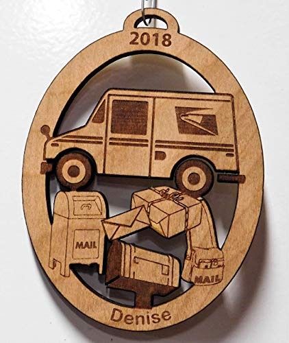 Mail Ornament - Mailman, Mail Carrier, Mail Women, Mailman Gift, Mailman Christmas Tree Ornament, Mailman Ornament
