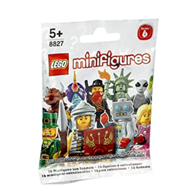 LEGO Minifigures Series 6 Lady Liberty Collectible Figure NY Statue of Liberty National Monument Freedom: Toys & Games