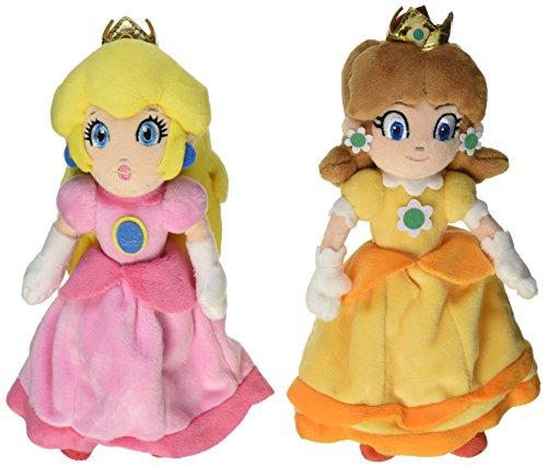 Little Buddy Nintendo Mario Plush Doll Set of - Peach Mario Plush