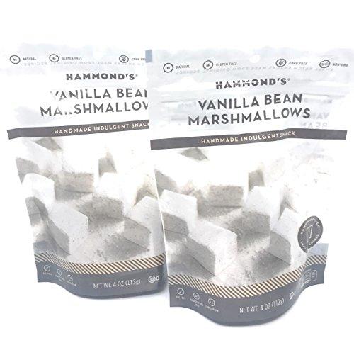 Hammonds Vanilla Bean Marshmallows 4oz 2-Pack