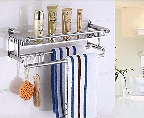 Peiwenin mensola da bagno in acciaio inox moderno porta asciugamani