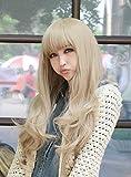"Cool2day Fancy 25"" Long Wavy Healthy Hair Party Full Wig+wig Cap (Model: Jf010321)"
