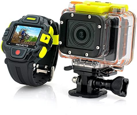 Full Hd Action Camera Eyeshot with Wi-fi and Watch Remote Control – 1920x1080p, Panasonic Sensor, Ultra Wide 145 Degree Lens