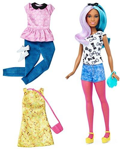 Barbie Fashionistas Doll & Fashions Blue Violet, (Violet Fashion)