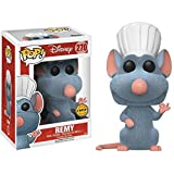 Funko POP! Disney Ratatouille: Remy FLOCKED LIMITED EDITION CHASE and Remy NON CHASE Toy Action Figure - 2 POP BUNDLE