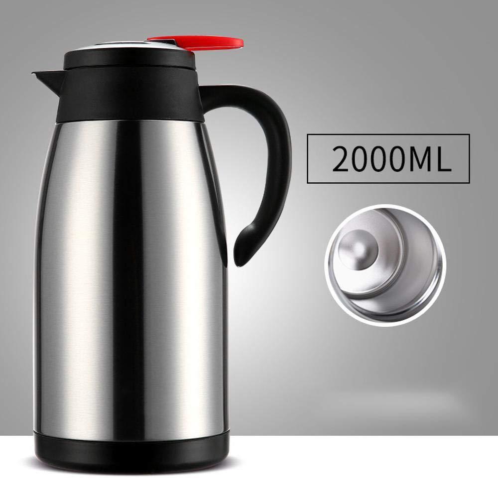 Yarmy Isolierung Topf Home Outdoor travel Mug Edelstahl Tasse großer Kapazität 2L Wasserkocher