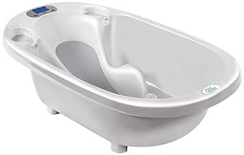 Babymoov Fu/ß Badewanne Abfluss Tube aquascale wei/ß