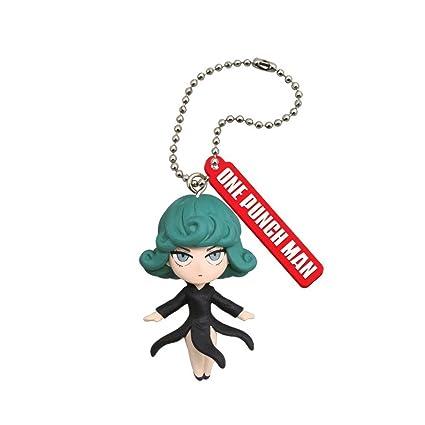 7fa99cb99e9bb Amazon.com: Matching World One Punch Man Tatsumaki Figure Keychain ...