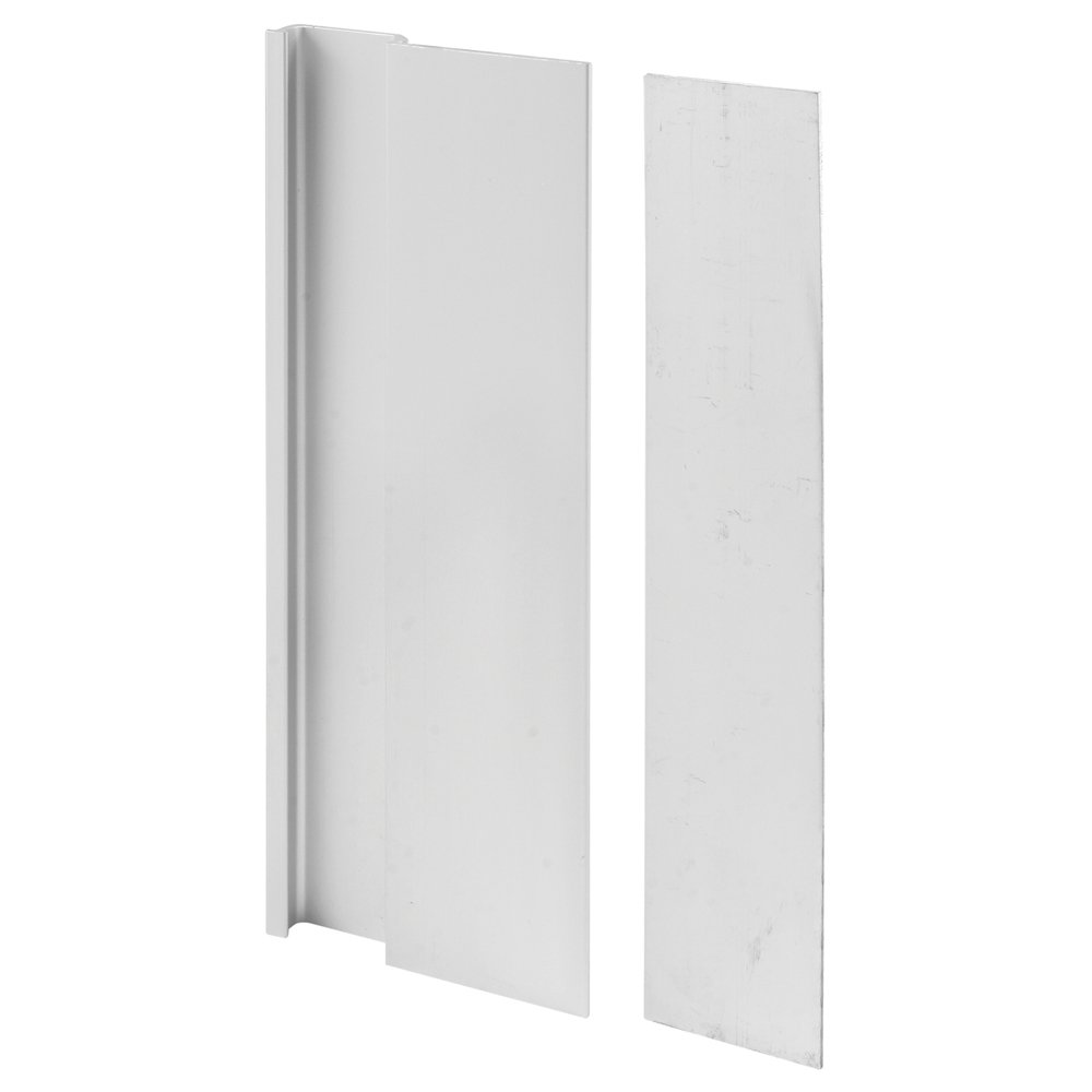 Prime-Line Products C 1062 Door Cover Plate and Pull, Aluminum