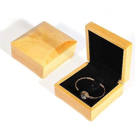 Gabinete de caja de joyería Pendiente del anillo Pulsera ...