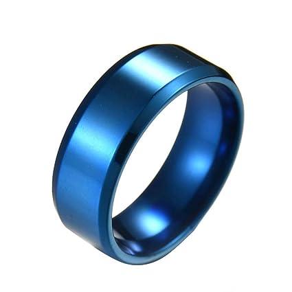 Acero inoxidable y titanio anillos, Alianza anillo de los ...
