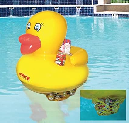 Amazon.com: waddlers Swimming Pool Toy Rubber Duck ...