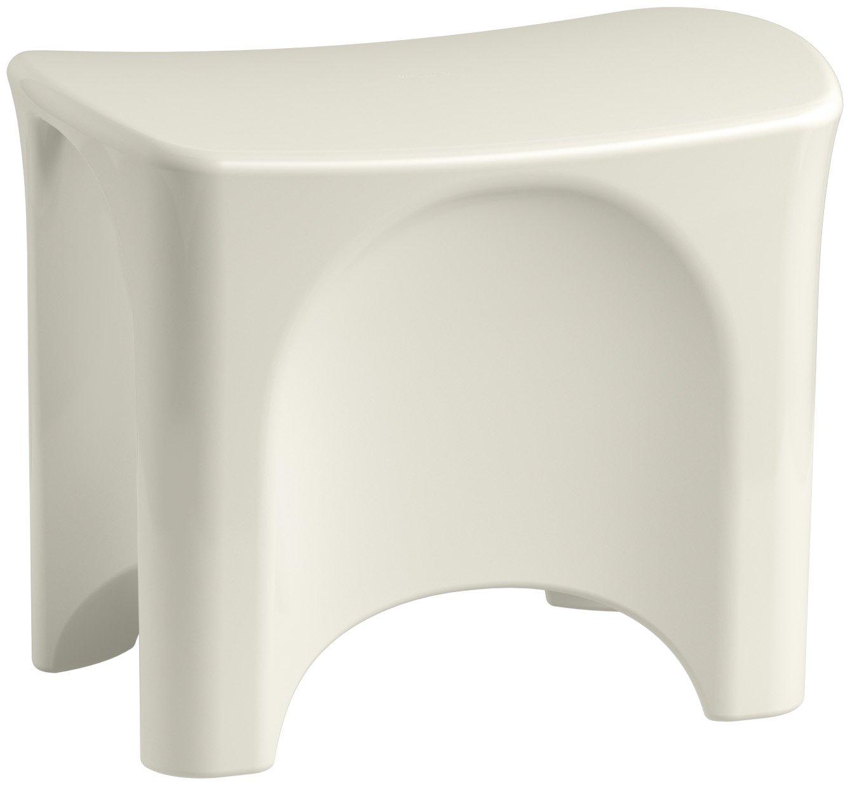 Sterling 72186104-96 Freestanding Shower Seat, Biscuit